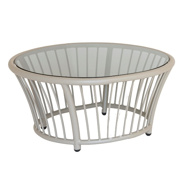 Al.Rose Cordial Side Table - Beje