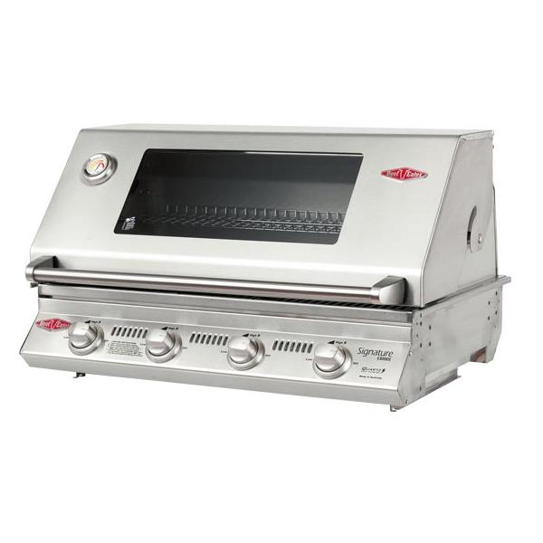 Beefeater S3000S 4B BBQ & Hood (cast iron)