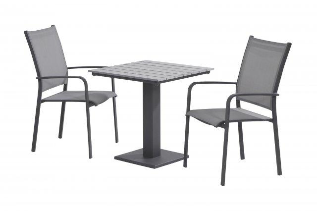 Taste Tosca Cadeira Emp. Costas Altas - SL. Grey