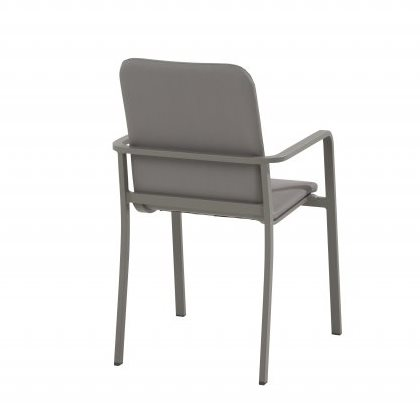 Taste Bergamo Dining Chair Stackable - Slate Grey