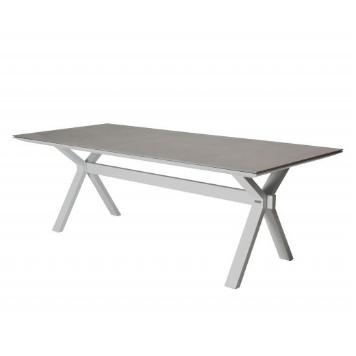Taste Vesper Table 220x95 w/Spraystone - White