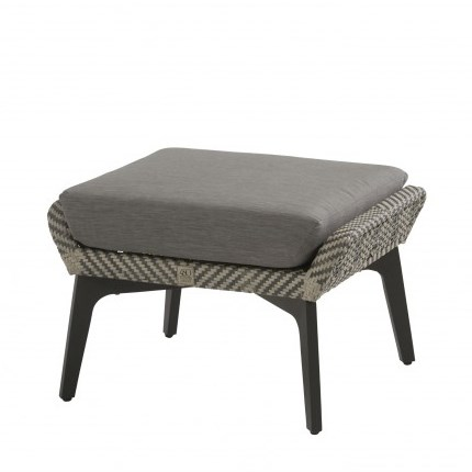 4 Seasons Savoy Footstool - Batik