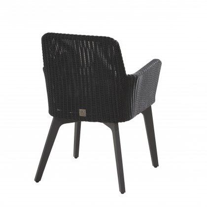 4 Seasons Lisboa Chair Alum. W/Cushion - Polyl Anthracite