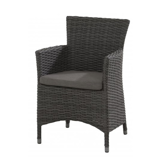 Taste Limbo Chair W/Cushion - Nero