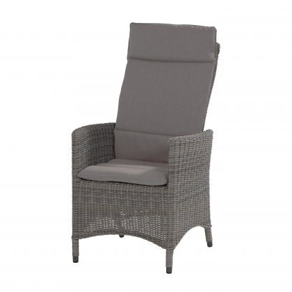 Taste Bolzano Reclining Chair w/ Cushions - Roca