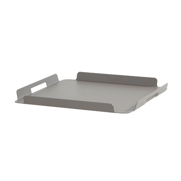 4 Seasons Maya Serving Tray 34x65 - Smoke Grey