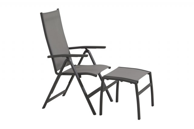 Taste Verona Recliner Chair - Matt Carbon