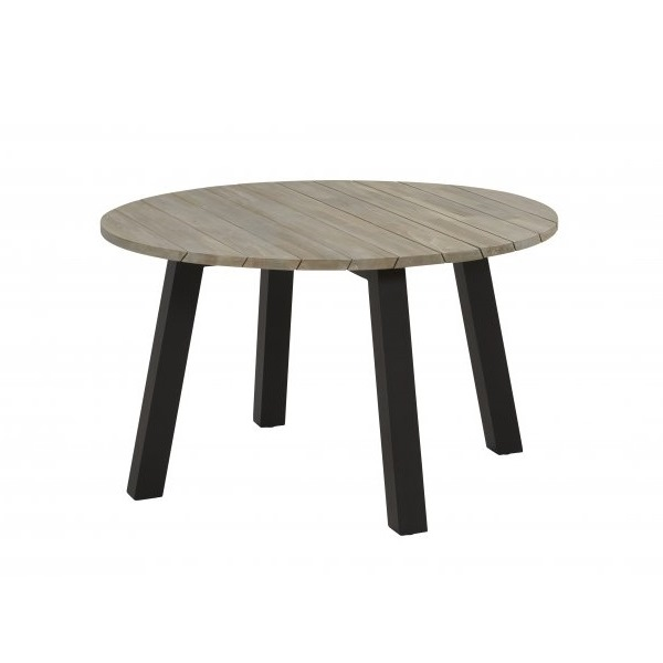Taste Derby Table ø130 - Teak / Antracite