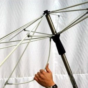 Zangenberg Lagos Parasol 2,5m - Grey