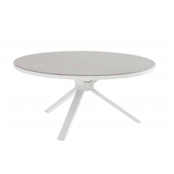 Taste Granada Table Ø160cm w/Spraystone - White