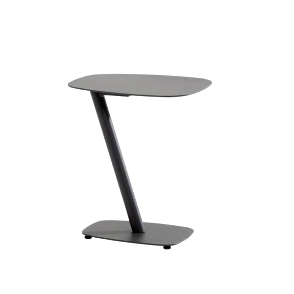 Taste Panino side table 35x45cm - Matt Carbon