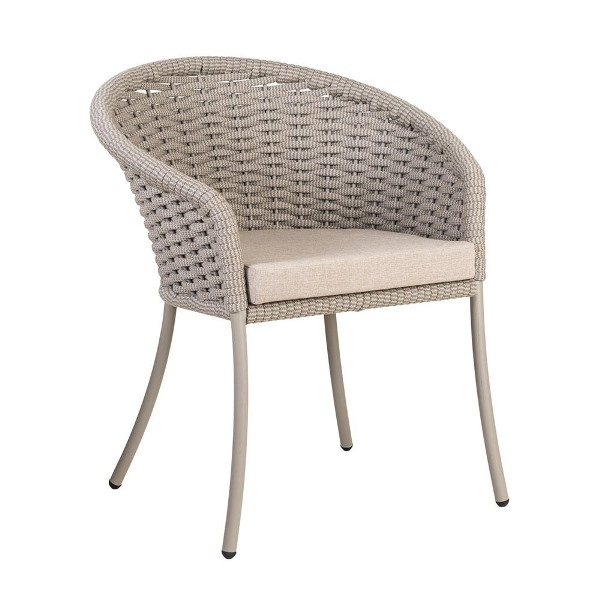 Al.Rose Cordial Dinning Chair Rope - Beje