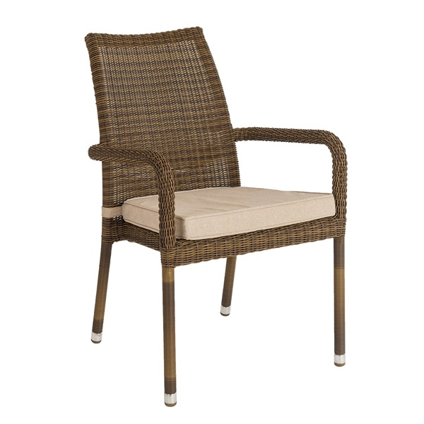 AL.Rose San Marino Atacking Armchair (No cushion)