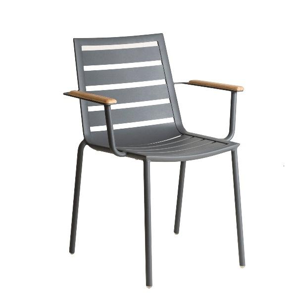 AL.Rose Fresco Cadeira C/ Braços Emplh. - Flint