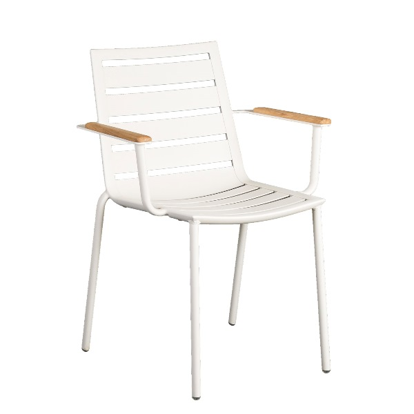 AL.Rose Fresco Stacking Armchair - Shell