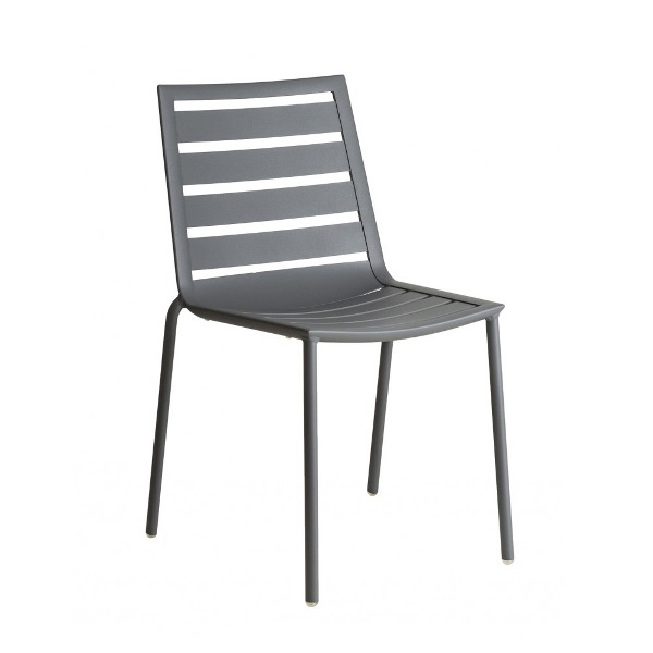 AL.Rose Fresco Stacking Chair - Flint
