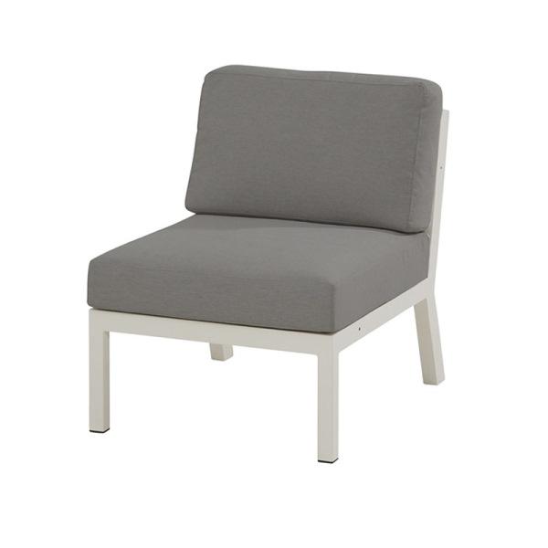 4 Seasons Byron Center Sofa  W/ cushions - White