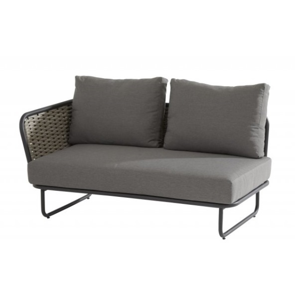 Taste Bo Modular Sofa 2seaters Right Arm - Banana/Grey