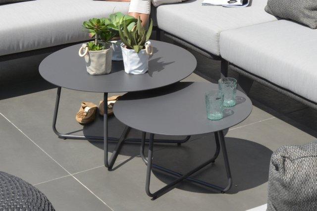 4 Seasons Dali Coffee Table Ø73cm - Antracite
