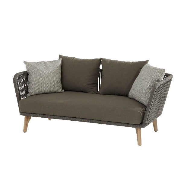 4 Seasons Santander Sofa 2,5 seaters w/Cushions - Rope