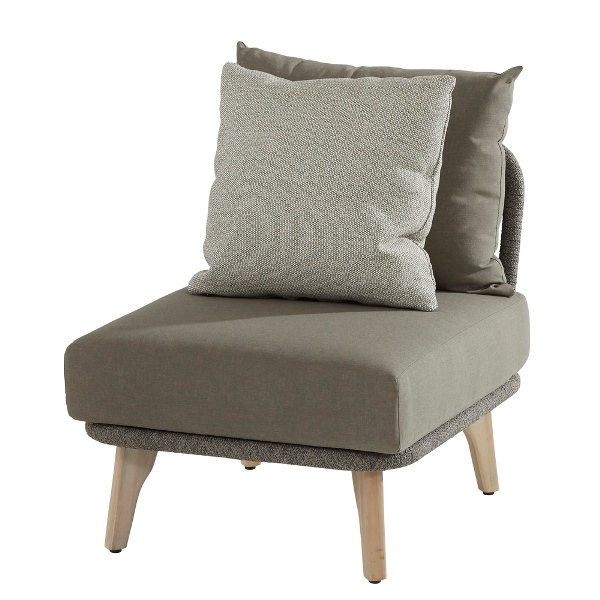 4 Seasons Santander Mod. Center w/Cushions - Rope