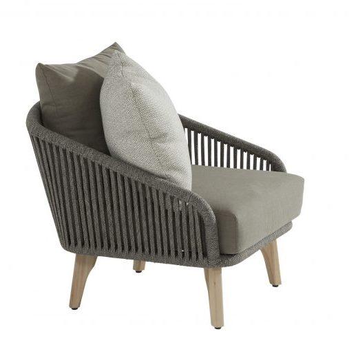4 Seasons Santander Sofa Ind. w/Cushions - Rope