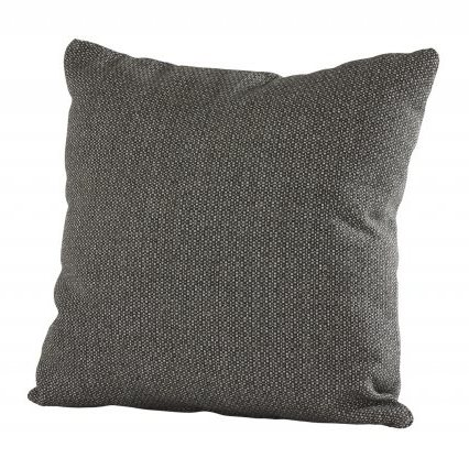4 Seasons Pillow w/Zipper 30x60 Fontalina Dark Grey