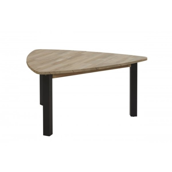 Taste Derby Triangular Table - Teak / Antracite
