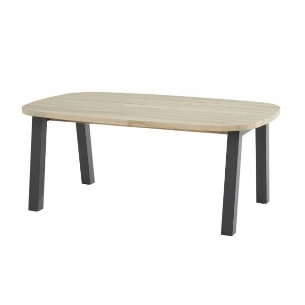 Taste Derby Ellips Table 180x110 - Teak / Antracite