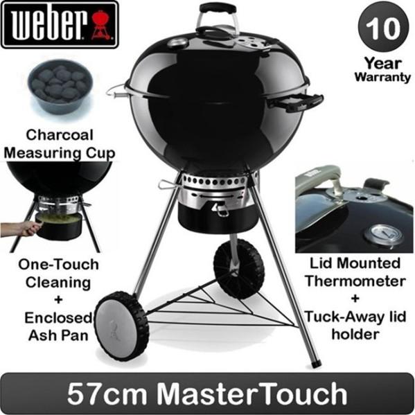 Weber BBQ Carvão Master-Touch Premium GBS E-5770 - Preto