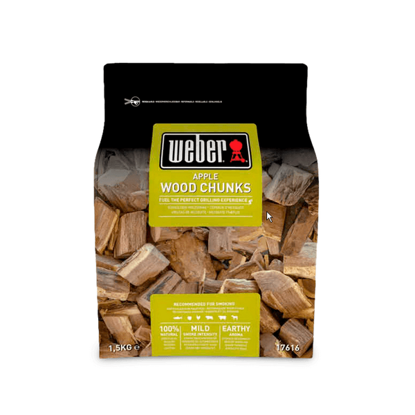 Weber Wood Chunks for Smoking - Apple