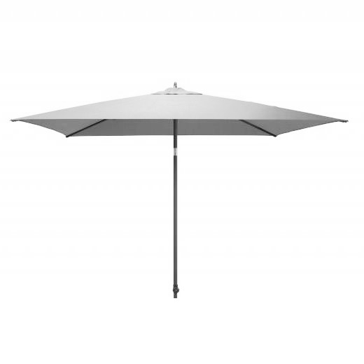 4 Seasons Azzurro Push Parasol 250x250cm - Grey