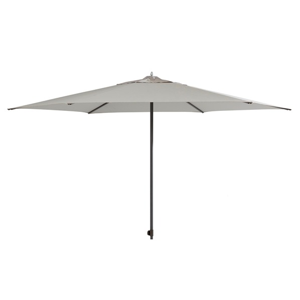 4 Seasons Azzurro Push Parasol Ø3m - Grey
