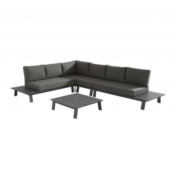 Taste Sofia Platform Sofa Set - Matt Carbon