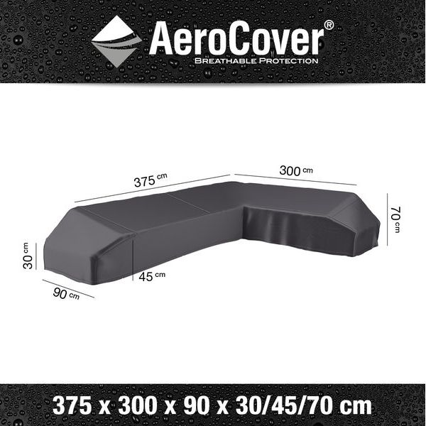 Platinum  L Cover  3758x300x900x90/45/70 Right