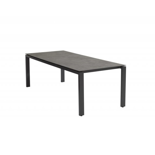 4 Seasons Goa Table HPL Top 220x95 - Dark Grey / Antracite