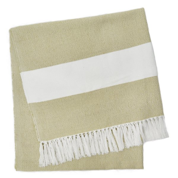 Weaver Green Manta Gooseberry Hammam Throw