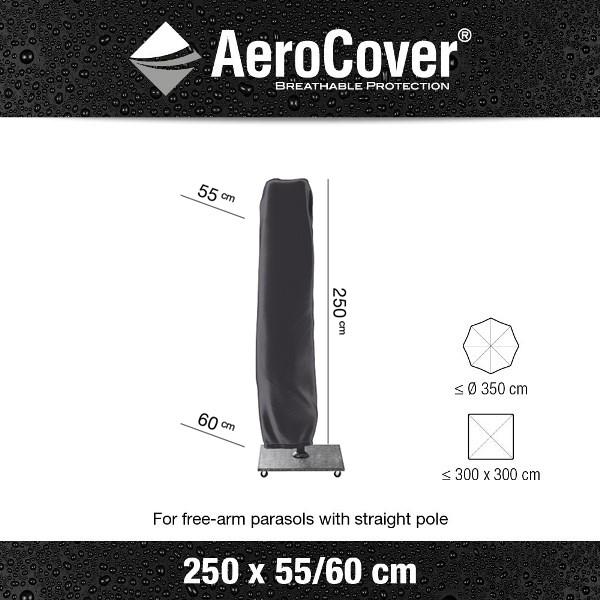 Platinum Parasol Cover H250 x Ø55/60