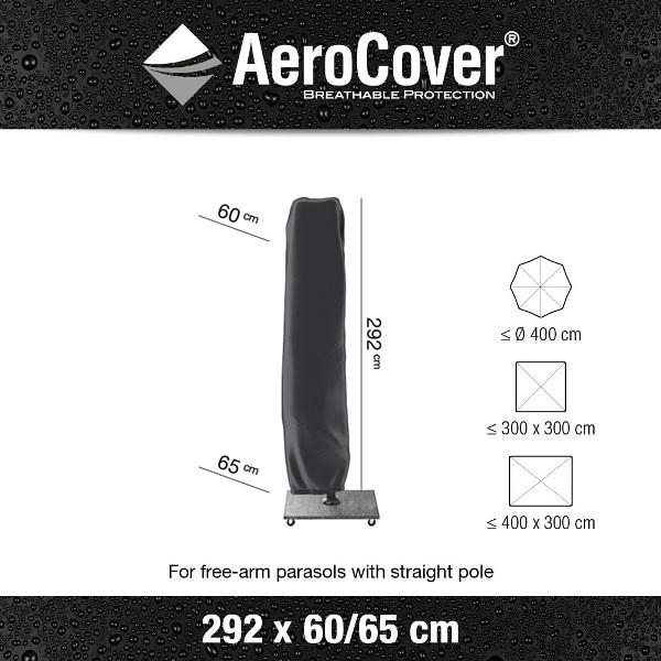 Platinum Parasol Cover H292 x Ø60/65