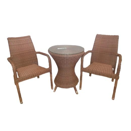 AL.Rose San Marino Mesa Bistro + 2 Cadeiras Emp.