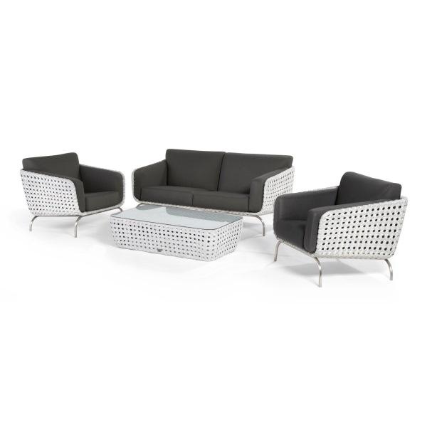 4 Seasons Luton Sofa Set - Pearl