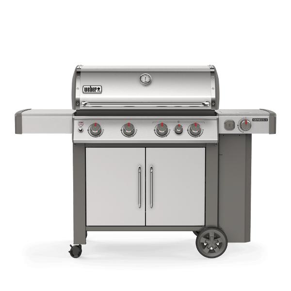 Weber Gas BBQ Genesis II EP-435 GBS - Stainless steel
