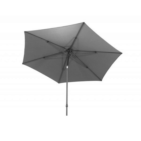4 Seasons Azzurro Push Parasol Ø3m  - Charcoal