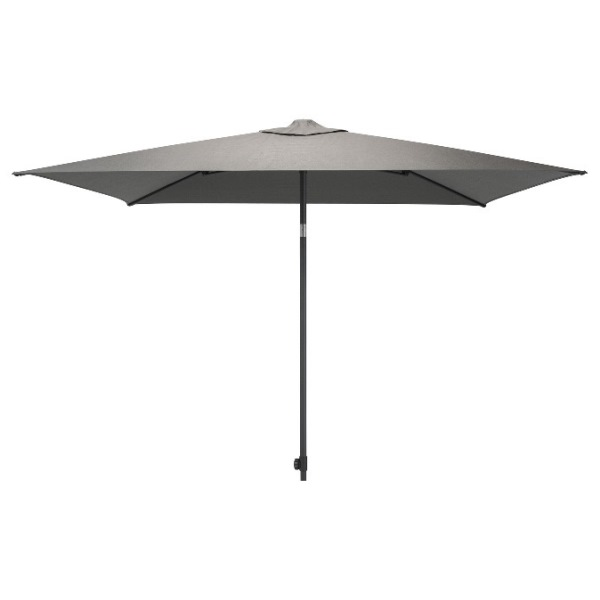 4 Seasons Azzurro Push Parasol 200x300cm - Charcoal