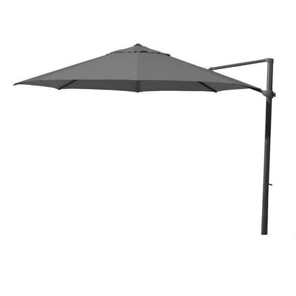 4 Seasons Siesta Parasol Ø3,5m - Charcoal