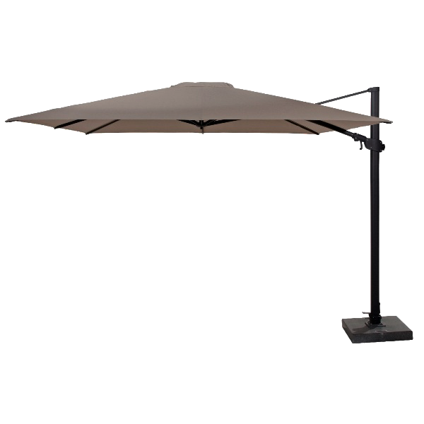 4 Seasons Siesta Premium Parasol 3x3m - Taupe