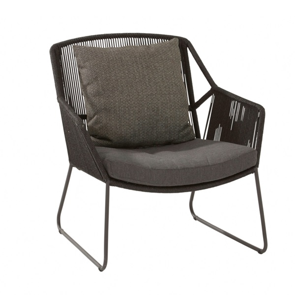 4 Seasons Accor Living Chair W/Cushions - Anthracite