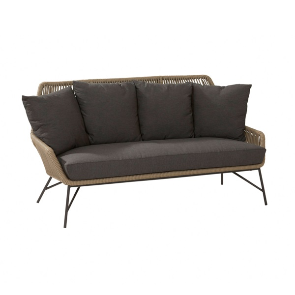 4 Seasons Ramblas 2.5 Seaters Sofa W/Cushions - Taupe