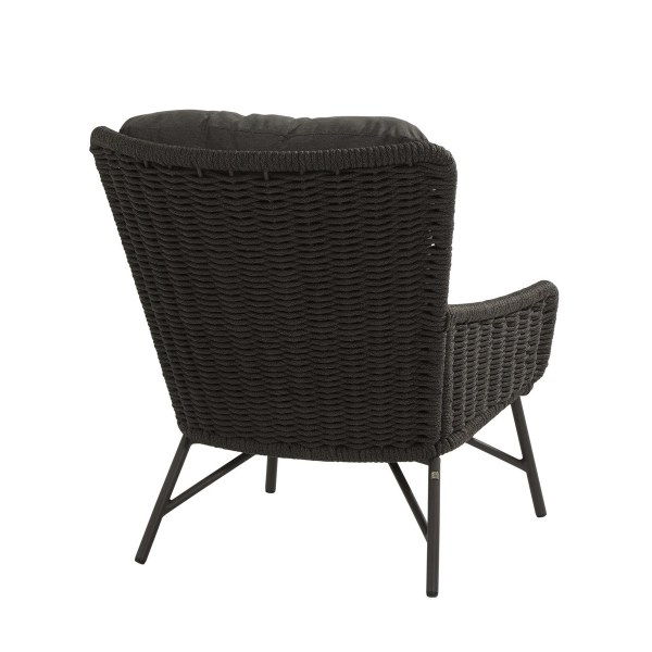 4 Seasons Wing Living Chair W/Cushions - Anthracite