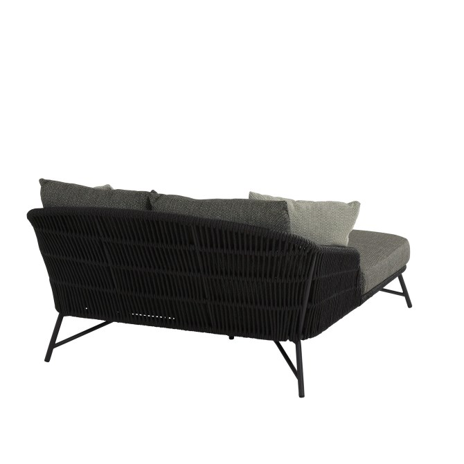 4 Seasons Marbella Sunbed W/Cushions - Anthracite